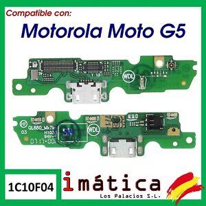 CONECTOR DE CARGA MICRO USB PARA MOTOROLA MOTO G5 PUERTO PLACA XT1671 XT1670