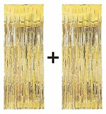 Gold foil party tassel curtains BUY ONE GET ONE FREE