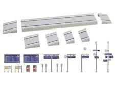 FALLER 222111 Moderner Bahnsteig mit Zubehör Bausatz N