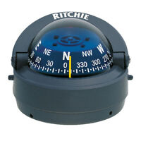 Ritchie S-53G Explorer Compass Surface Mount Gray