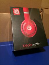 *GENUINE* Beats by Dr. Dre Studio 2 Wired Over-Ear Headphones RED - NEW SEALED