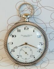 IWC Schaffhausen 1925 Swiss Silver Pocket Watch Cal. 52 H6