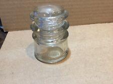 Whitehall Tatum No. 3. Clear Glass Insulator