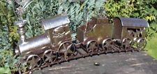 XXL weihnachtszug Deko-Zug Zug Dekofigur Christmas Weihnachten Bahn Metall Bahn