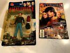 SMALLVILLE DC Direct Clark Kent figure & SMALLVILLE COMIC #1 2002
