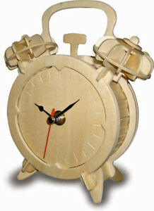 Alarm Clock     QUAY Woodcraft Construction Kit FSC
