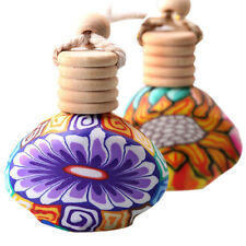 automotive supplies Air Freshner Fimo aromatherapy car perfume bottle hanging