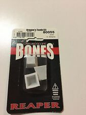 Reaper 80055 Chronoscope Bones Dragon's Teeth (3) Miniatures Tank Traps Terrain