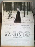 AGNUS DEI (2016) Manifesto Film 2F Poster Originale Cinema 100x140 FONTAINE