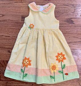 White 6X /& Navy Patriotic Dress Sz 12m Infant//Toddler//Girls Good Lad $32 Red