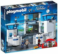 Playmobil comisaria policia con prision
