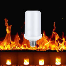 360° 99L E14 5W Flame Flickering Effect Fire Light Bulb Decorative Holiday Lamp