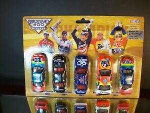 Brickyard 400 5 Piece Winner Set 1994-1998 1:64 Gordon Earnhardt Rudd Jarrett