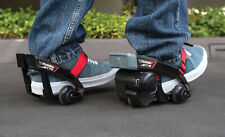 *New* Powered Adjustable Pressure-Sensitive Attachable Sneakers Hover Wheels