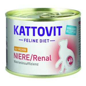Kattovit Kidney/Renal Renal Failure Kidney Problems Low Protein Diseases,12x185g