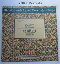 HM 2 - DUFAY / OBRECHT - Historical Anthology Of Music - Excellent Con LP Record