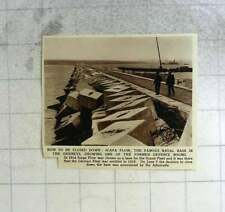 1956 Scapa Flow, Orkney's, To Be Closed Down