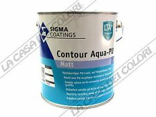 SIGMA COATINGS CONTOUR AQUA PU MATT - 1 lt - QUALSIASI COLORE - SMALTO ALL'ACQUA