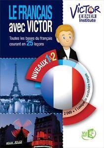 Victor Ebner Institute: Le français avec Victor niveaux 1 et 2 - 2 DVD **