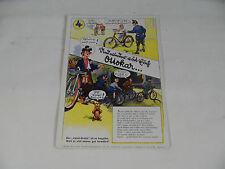 ancien Gomme à effacer avec Publicité de Ottokar Vélo