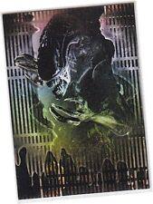"""Alien Legacy - 1 Card """"Alien Acid Bath"""" Embossed Chase Card AE1/RE1 - 1998"""