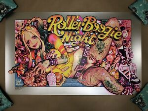 🔥 Rockin Jelly Bean ROLLER BOOGIE NIGHT Foil Numbered #158/175 - Ready to ship!