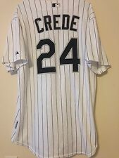 Chicago White Sox Joe Crede Game Used Jersey Home 2008