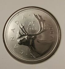 2007 CANADA 25 CENT SPECIMEN FROM SET