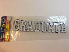 Darice Foamies Just Peel And Stick White Letters Graduate Scrapbooking
