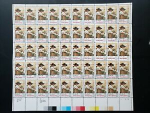 U.S. #2338 NEW JERSEY, FULL SHEET OF 50, MINT NEVER HINGED