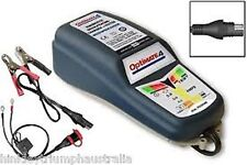 OPTIMATE 4 12 VOLT dual SMART TENDER CHARGER CAN BUS for BMW inc CABLES . R1200