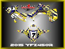 Yamaha YFZ 450R 14-15  SEMI CUSTOM GRAPHICS KIT WAVER2