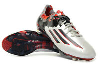 Adidas Messi Pibe De Barr 10.1 FG Mens Football Boots - White/Granite/Scarlett