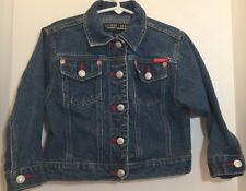 Guess Girls Jean Denim Jacket Coat Size 4 Child