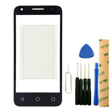 Outer Screen Lens Glass For Alcatel One Touch Pixi 3 4.5 5017A 4027A 4028E+Tools