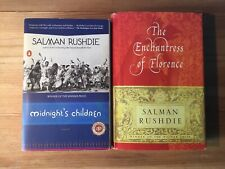 Midnight's Children & The Enchantress of Florence By Salman Rushdie | Lot of 2