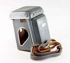 Original Leather Case for the Yashica 44 Camera with the hand crank
