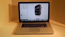Apple Macbook Pro A1286 MB986LL/A 2.88Ghz Intel Core 2 Duo, 4.0GB, 750GB, SuperD