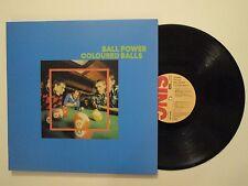 COLOURED BALLS BALL POWER LP 1973 GREAT AUSTRALIAN HARD ROCK AC/DC BUFFALO