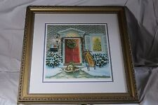 "Ruth Sanderson ""  Welcome to the Holidays "" Print Signed  LE 150 by Lenox , COA"
