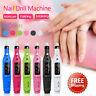 Electric Nail File Drill Portable Professional Manicure Pedicure Machine Set