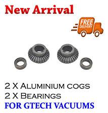 2 X Gtech AirRam Vacuum Cleaner Aluminium Gear & Bearing