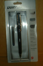 LAMY SAFARI ---BLACK--- FOUNTAIN PEN BRAND NEW SEALED