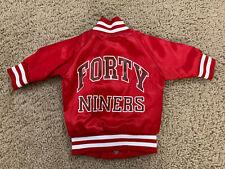 Child's Baby Vintage Chalk Line San Francisco 49ers Jacket Size 6 Mos 90's Rare