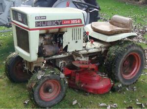 Bolens Husky compact vintage tractor 1054