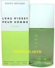 L'Eau D'Issey Yuzu By Issey Miyake 4.2oz./125ml Edt Spray For Men New In Box