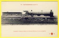 cpa LOCOMOTIVE (Angleterre) pour TRAIN à Grande Vitesse du CALÉDONIAN RAILWAY