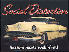 15497 Social Distortion Kustom Rock Roll 50s Car Punk Music Band Decal / Sticker