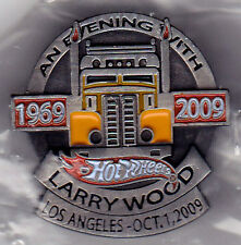 9Hot Wheels 2009 Larry Wood 1969-2009 Dinner Lapel Pin