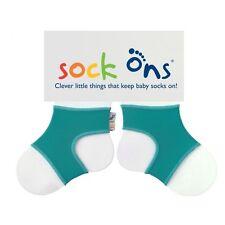 Sock Ons Sockenhalter Babysocken Small 0-6m Turquoise